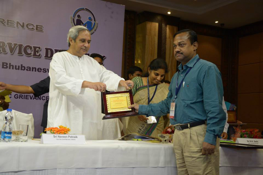Mr. K. C. Das, GM Procurement, was receiving award from honorable Chief Minister Shri Naveen Pattnaik on 13th Nov 2014 at Hotel Mayfair, Bhubaneswar.